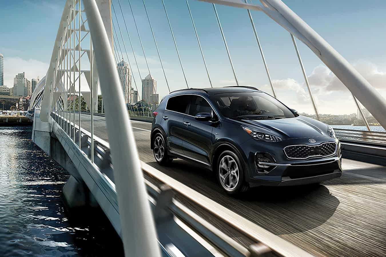 Test drive the 2020 Kia Sportage near Brampton ON